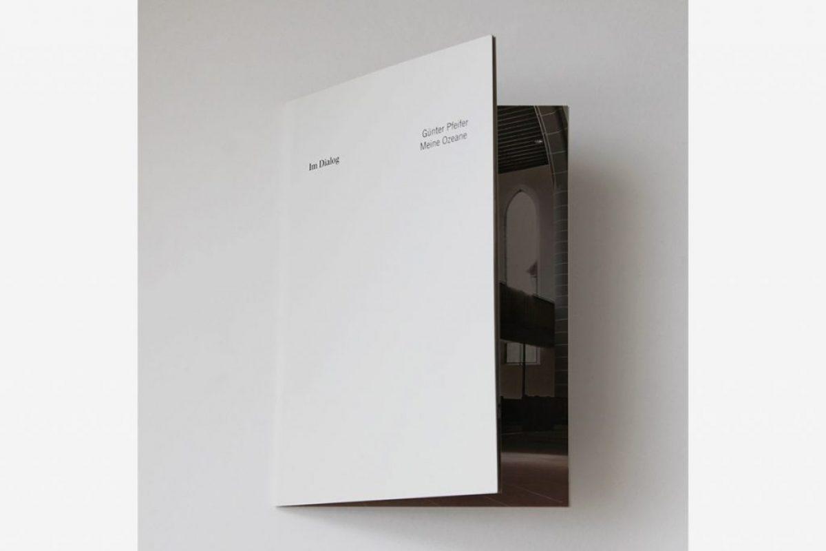 """Katalog: Im Dialog XII – Günter Pfeifer """"Meine Ozeane"""", Darmstadt 2012"""